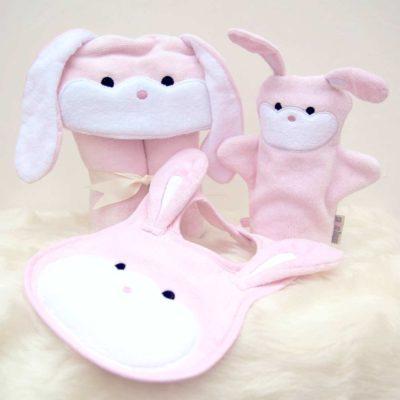 Pink Bunny Baby Gift Set