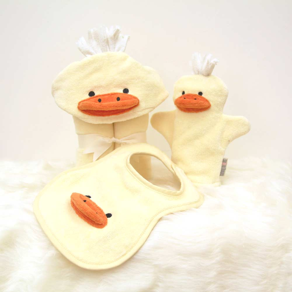 Yellow Duck Baby Gift Set