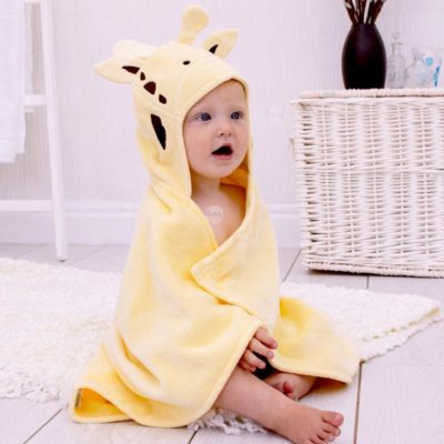 Giraffe Baby Hooded Towel