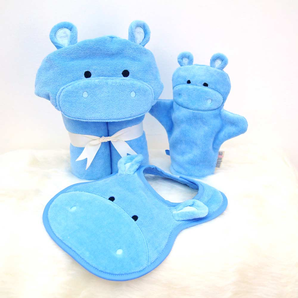 Blue Hippo Baby Gift Set