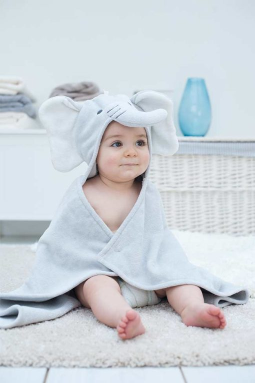 Elephant Hooded Towel for Babies