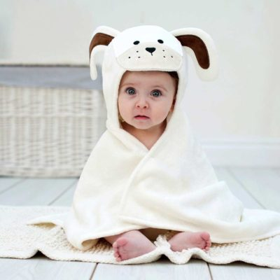 Puppy Baby Hooded Towel