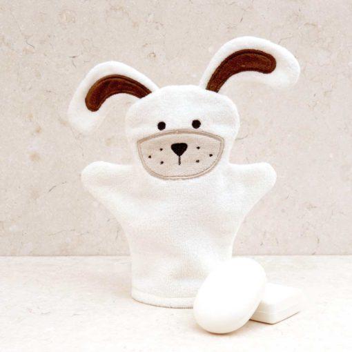 Puppy Baby Bath Mitt