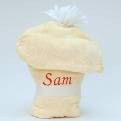 Personalised Duck Hooded Baby Towel