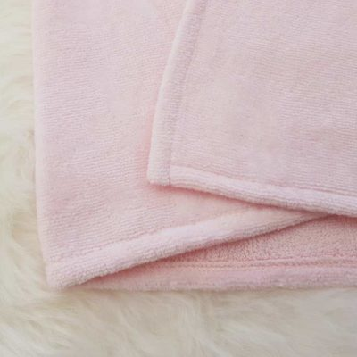 Pink Towelling Fabric