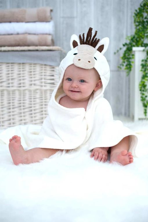 Pony Hooded Baby Towel