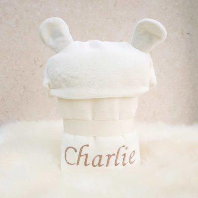 For Smiley Bear baby towel