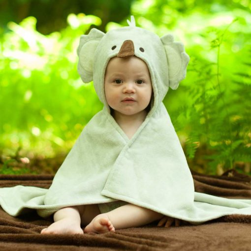 Cuddles the Koala baby towel