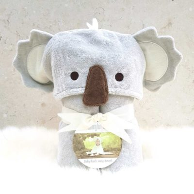Cuddles the Koala baby towel